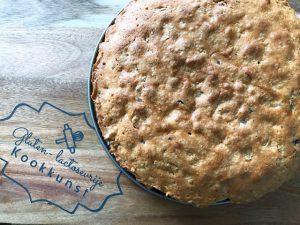 Gluten- & lactosevrije cake met walnoten en chocola