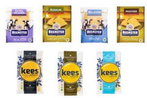 Gluten- en lactosevrije kaas van Beemster en Kees