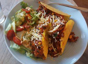 Taco's met salade