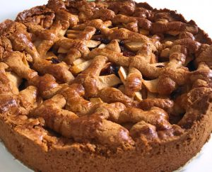 Gluten- & lactosevrije appeltaart (van pannenkoekenmeel)