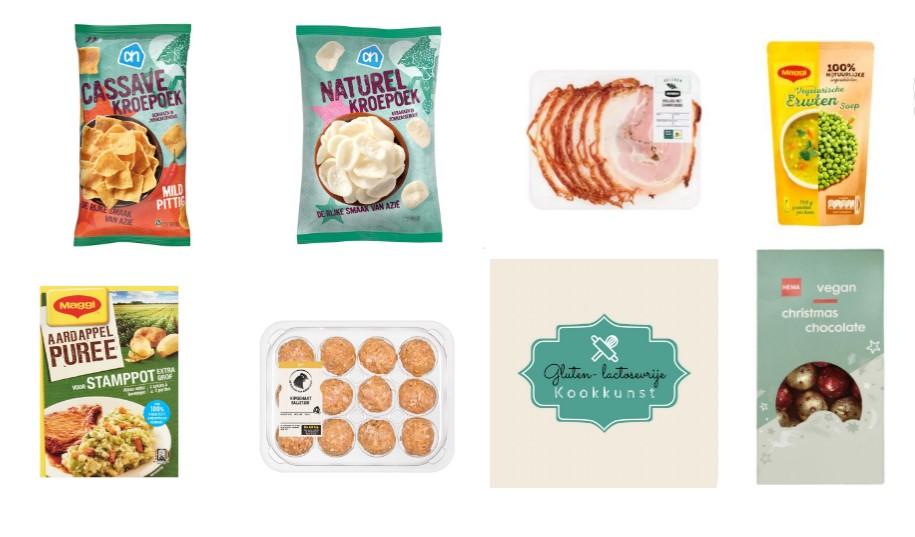 Gluten- & lactosevrije product inspiratie