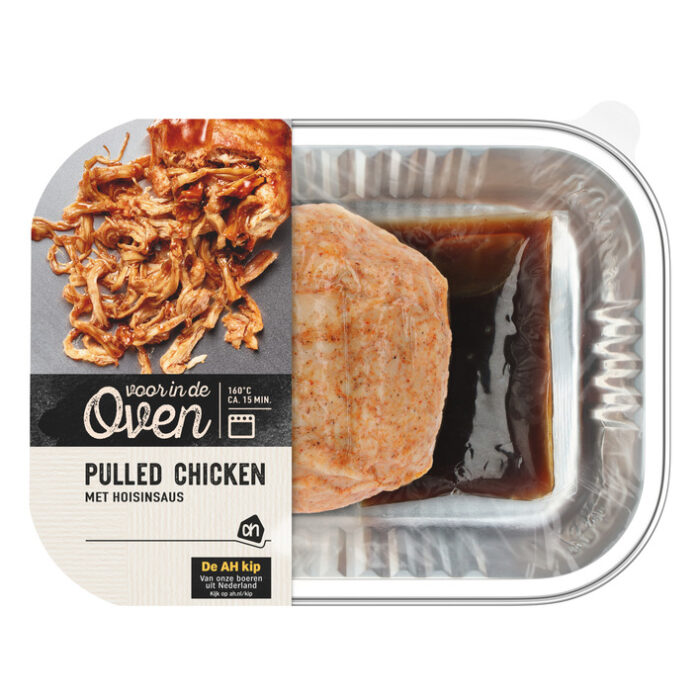 glutenvrije pulled chicken