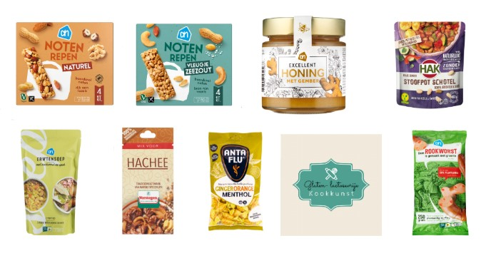 lactosevrije en glutenvrije producten