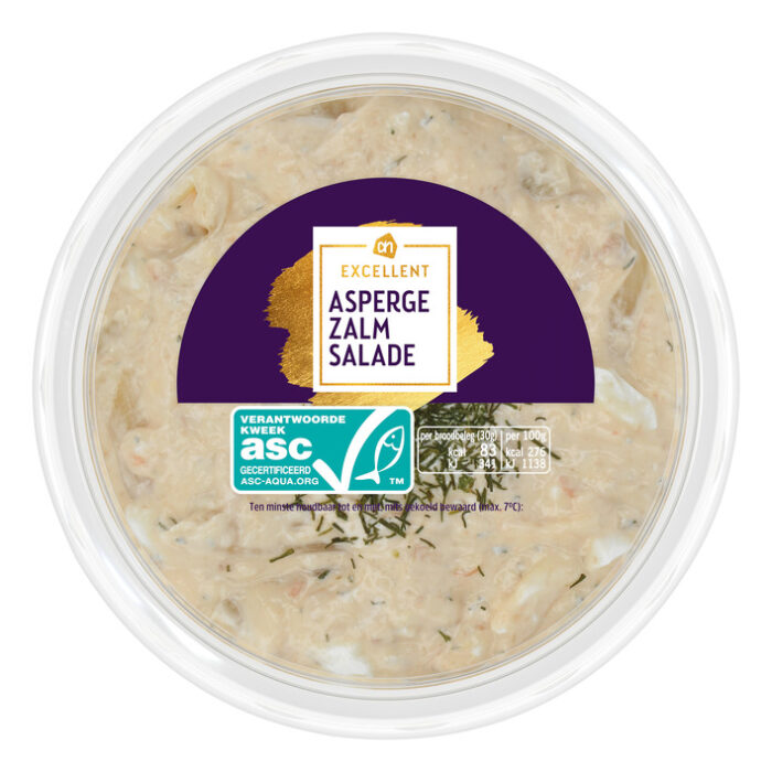 gluten- en lactosevrije salade