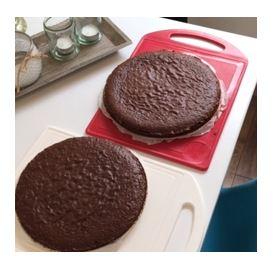chocolade paastaart met lemon curd