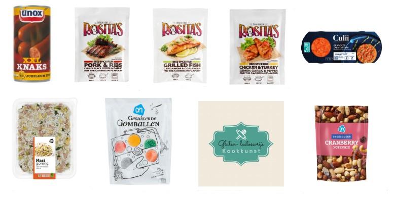 glutenvrije en lactosevrije producten