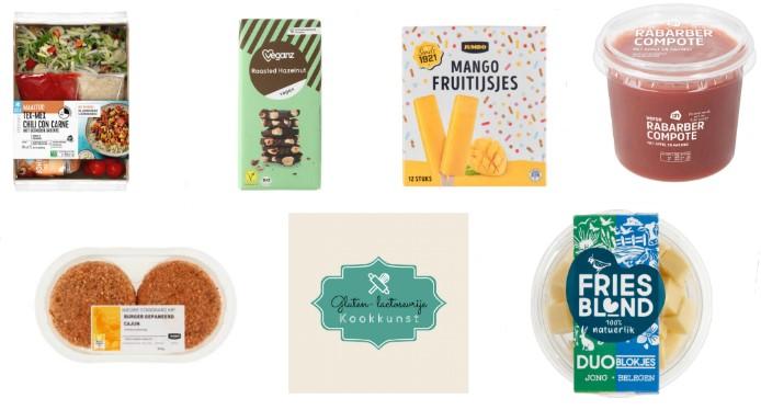gluten- en lactosevrije producten