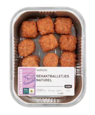 glutenvrije gehaktballen