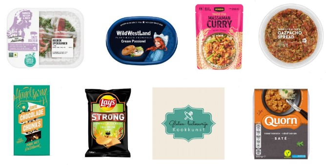 glutenvrije en lactosevrije
